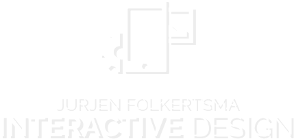 Folkertsma Interactive Design logo white